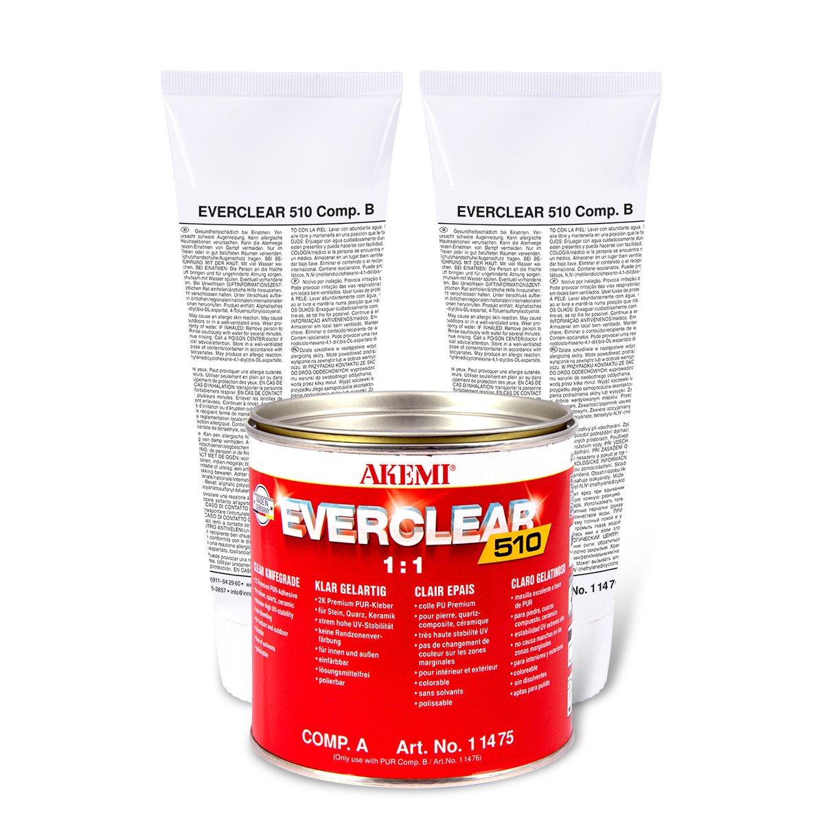 Everclear 510 sous forme de gel